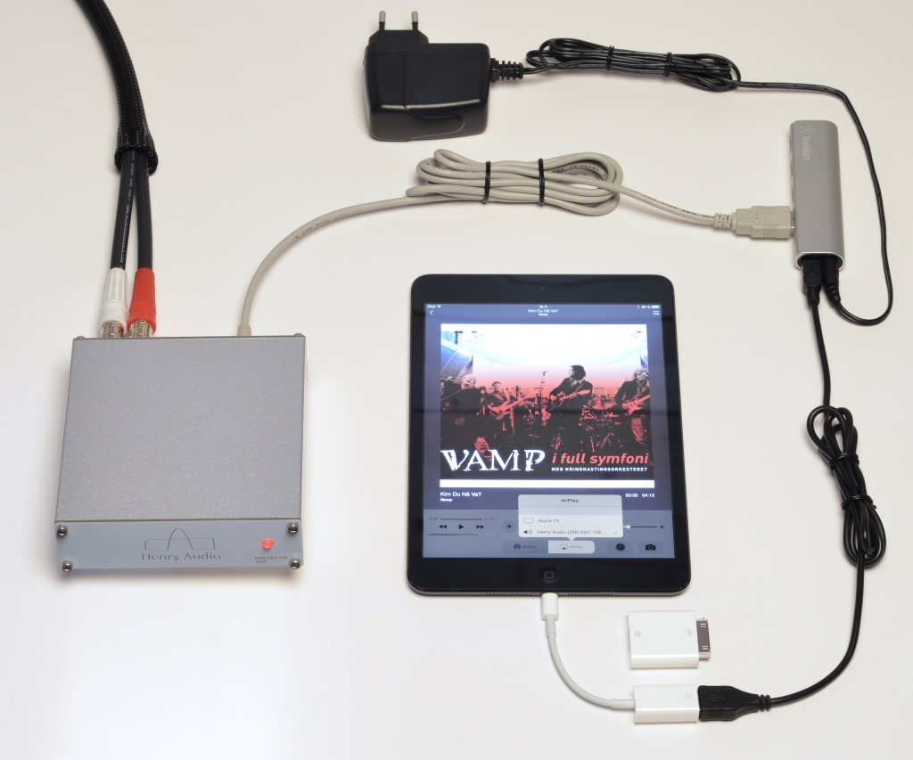 Henry Audio DAC with iPad